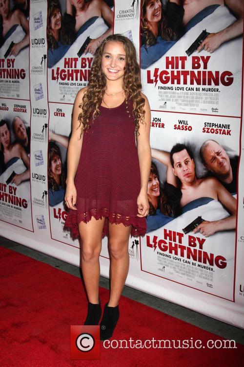 'Hit by Lightening' Los Angeles premiere