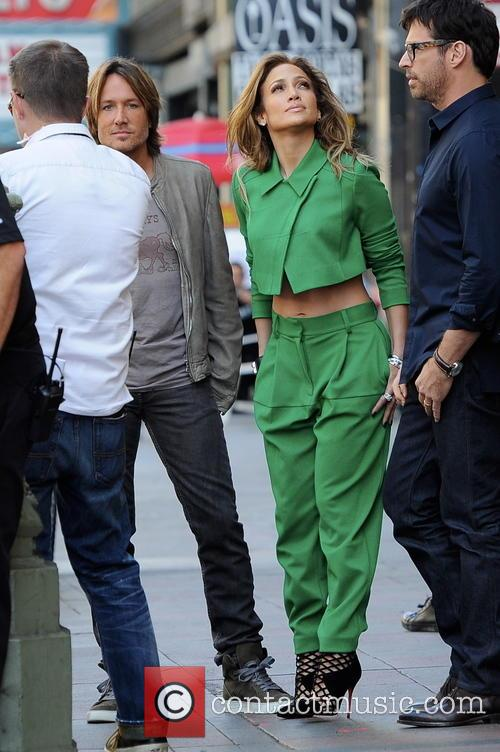 Jennifer Lopez, Keith Urban and Harry Connick Jr 9