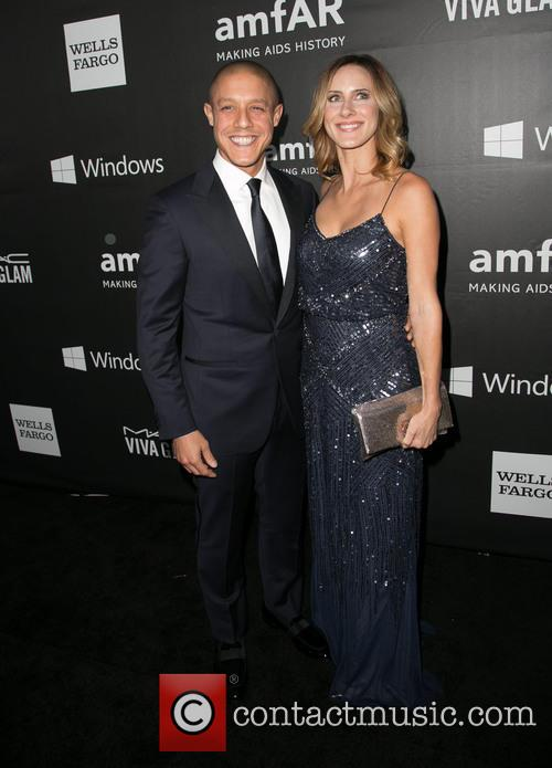 Theo Rossi and Meghan Mcdermott 5