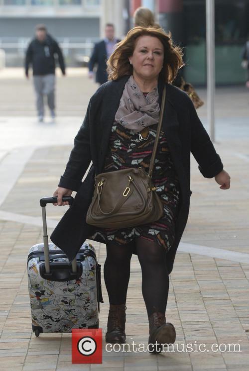 Celebrities leave the BBC Studios