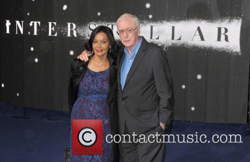 Shakira Caine and Sir Michael Caine 10