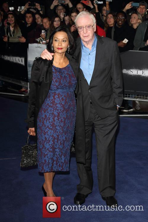 Shakira Caine and Sir Michael Caine 11