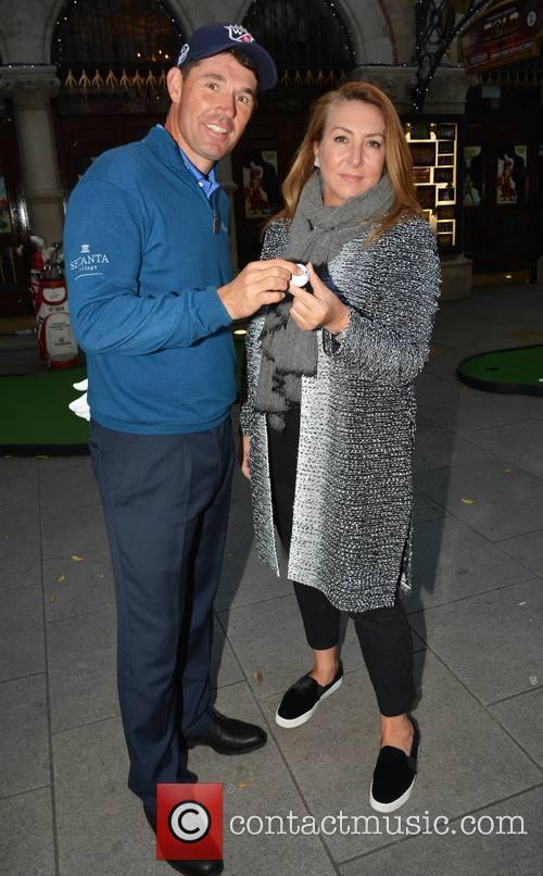 Padraig Harrington and Caroline Downey 7