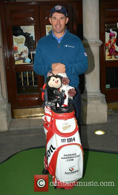 Golf pro Padraig Harrington launches his event 'An...