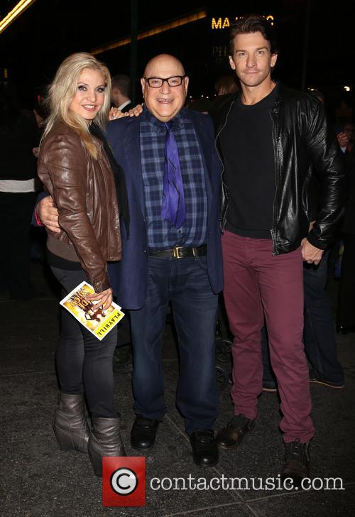 Orfeh, Henry Krieger and Andy Karl 1