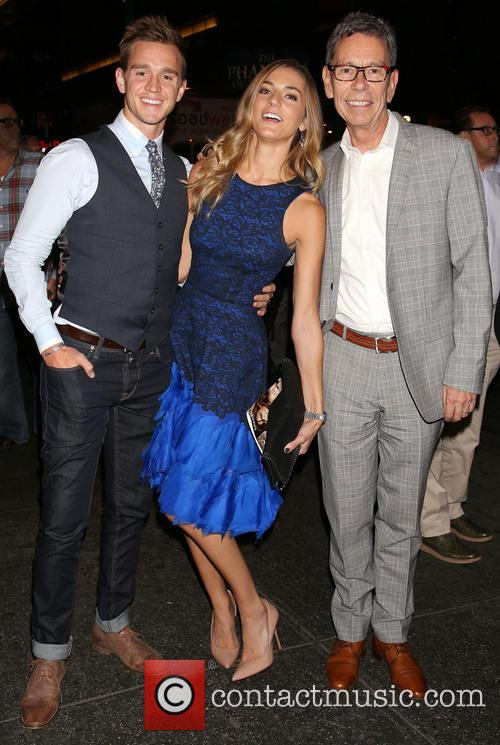 Stuart Holden, Karalyn West and Bill Russell 1