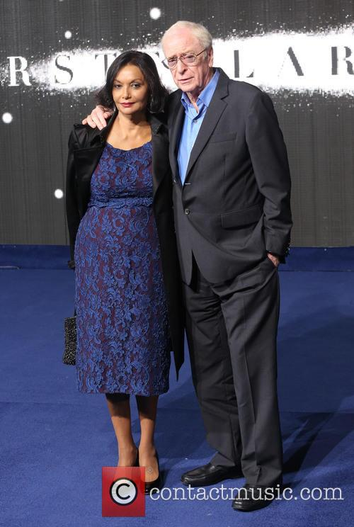 Sir Michael Caine and Wife Shakira Caine 3