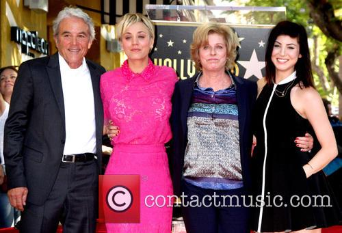 Gary Cuoco, Kaley Cuoco, Layne Cuoco and Briana Cuoco 3