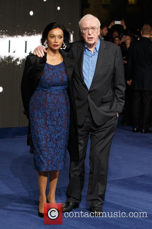 Shakira Caine and Sir Michael Caine 2