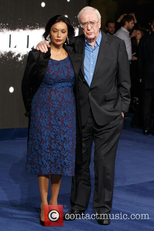 Shakira Caine and Sir Michael Caine 3