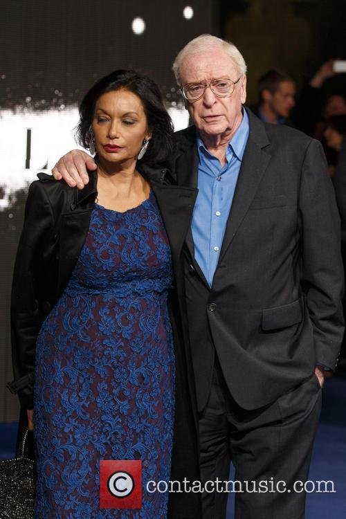 Shakira Caine and Sir Michael Caine 4