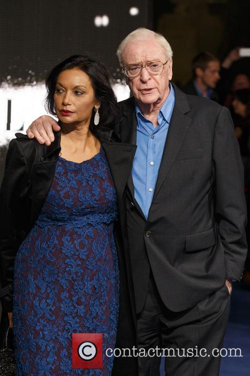 Shakira Caine and Sir Michael Caine 5