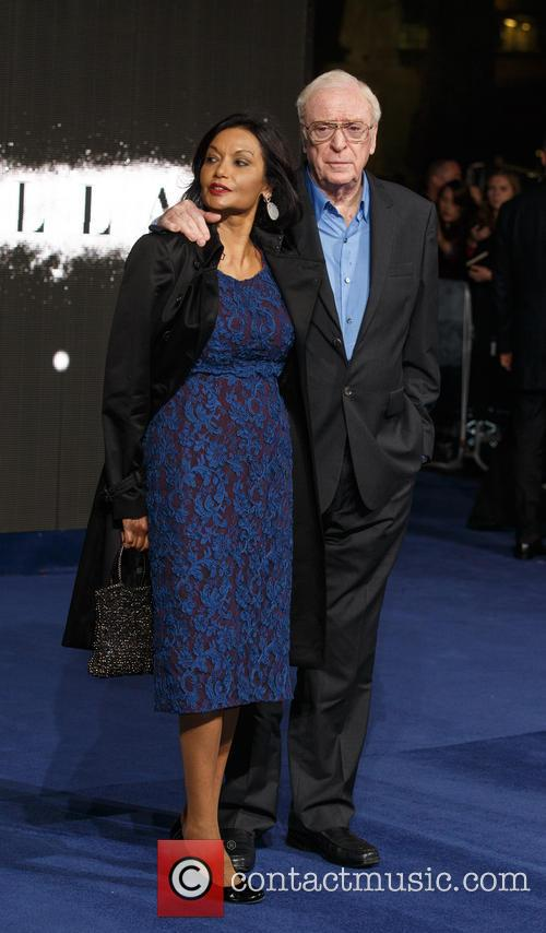 Shakira Caine and Sir Michael Caine 1