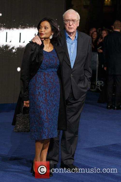 Shakira Caine and Sir Michael Caine 6
