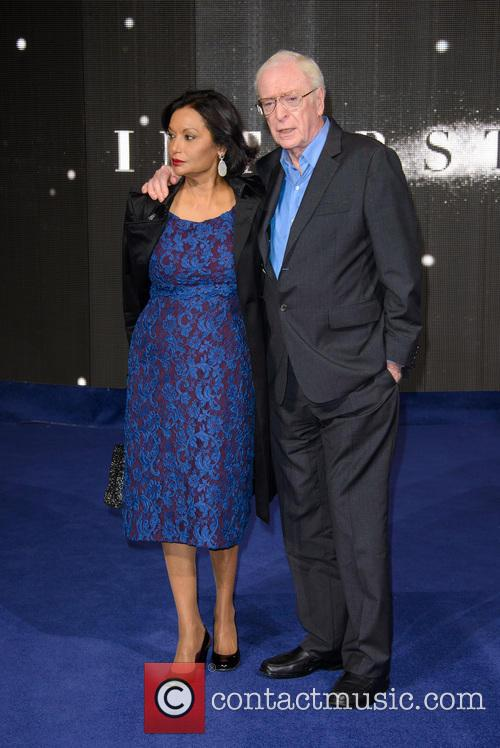 Shakira Caine and Michael Caine 7