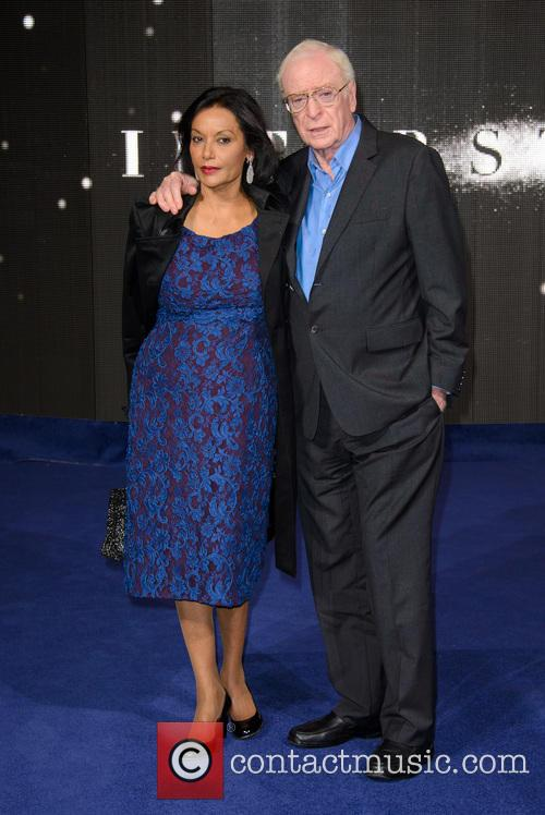 Shakira Caine and Michael Caine 8