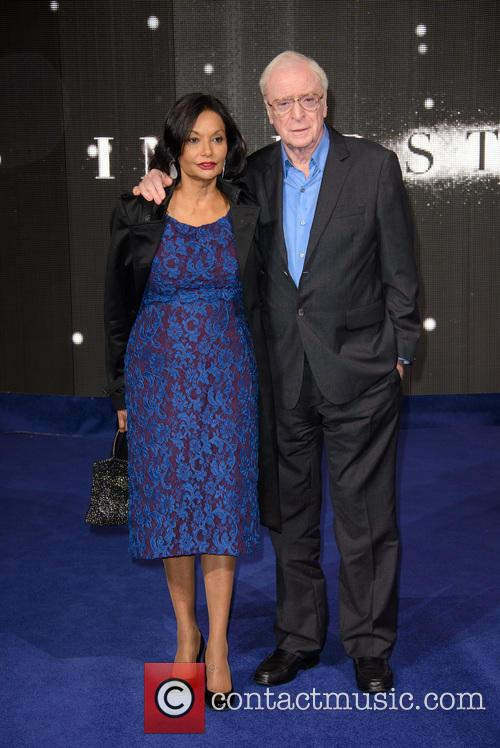Shakira Caine and Michael Caine 9