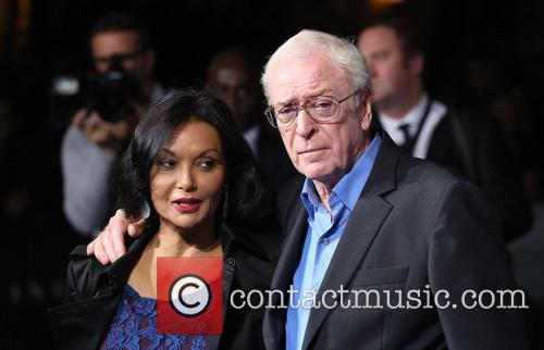 Sir Michael Caine and Wife Shakira Caine 2