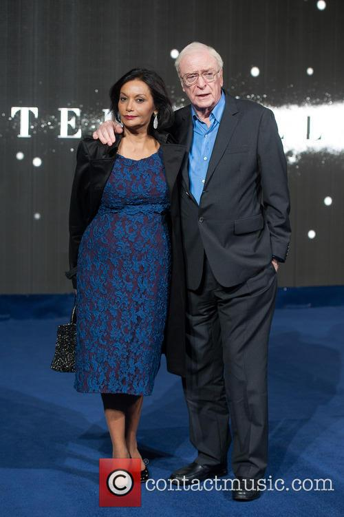 Sir Michael Caine and Chakira Caine 3