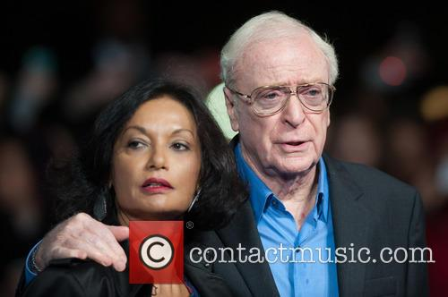 Sir Michael Caine and Shakira Caine 4