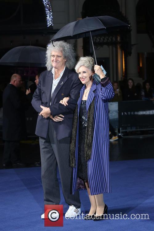 Anita Dobson and Brian May 3