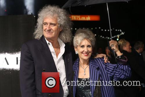 Anita Dobson and Brian May 4