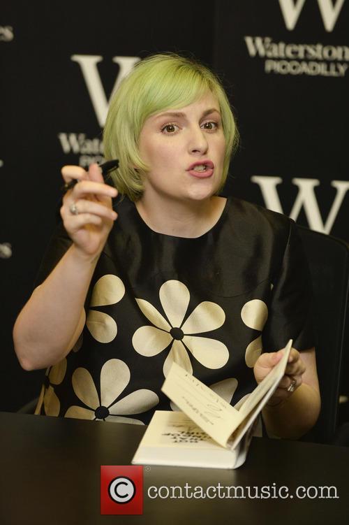 Lena Dunham Waterstones book signing