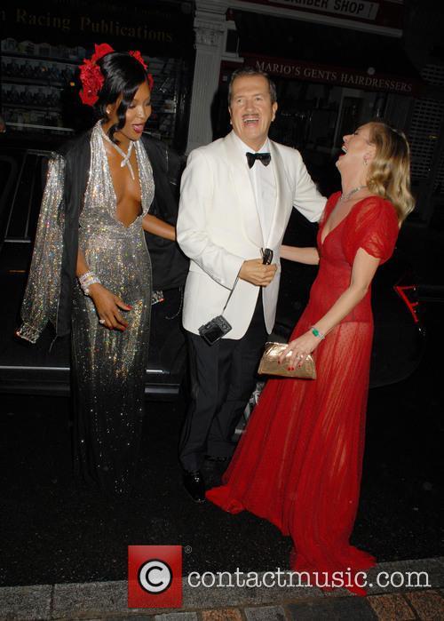Naomi Campbell, Mario Testino and Kate Moss 5