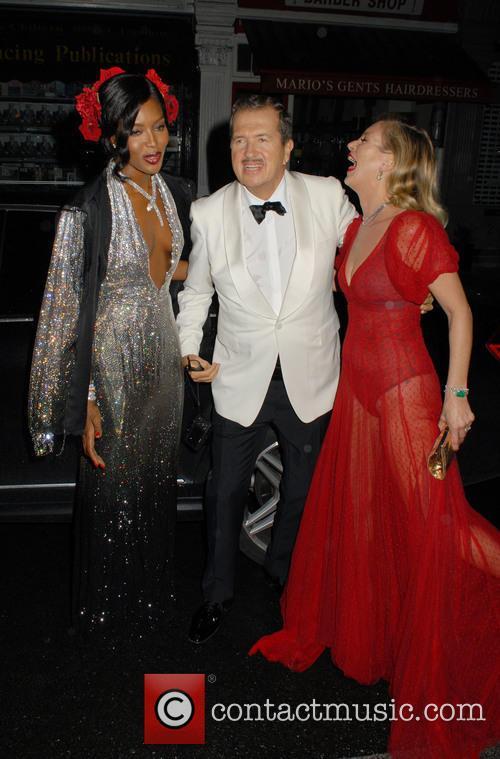 Naomi Campbell, Mario Testino and Kate Moss 6