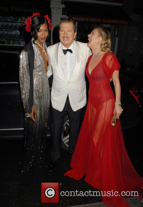 Naomi Campbell, Mario Testino and Kate Moss 1