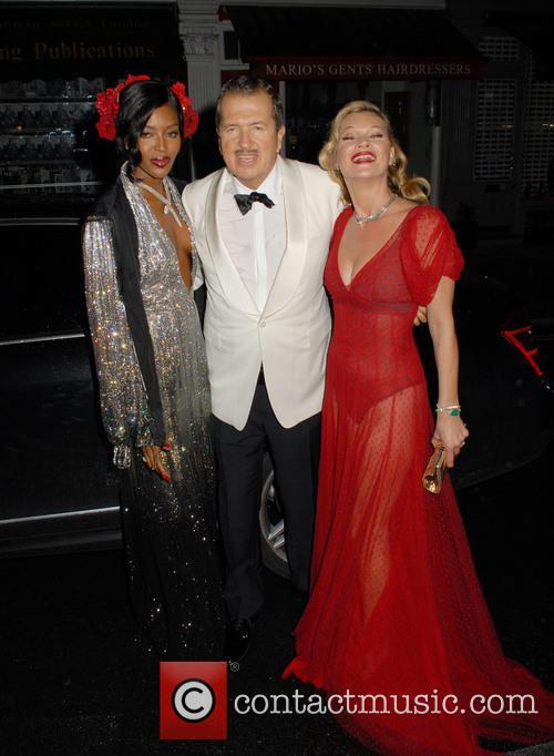 Naomi Campbell, Mario Testino and Kate Moss 7