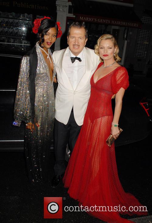 Naomi Campbell, Mario Testino and Kate Moss 8
