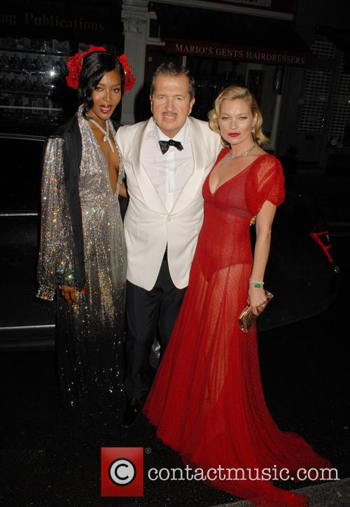 Naomi Campbell, Mario Testino and Kate Moss 9