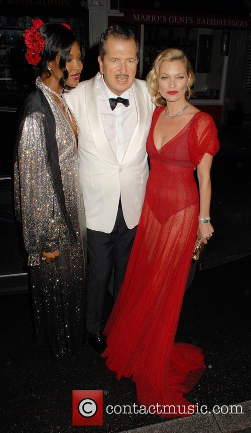 Naomi Campbell, Mario Testino and Kate Moss 10