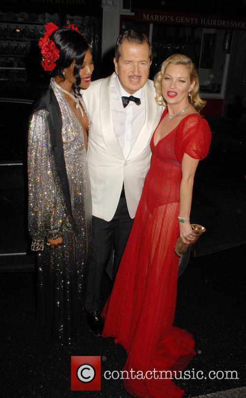 Naomi Campbell, Mario Testino and Kate Moss 11