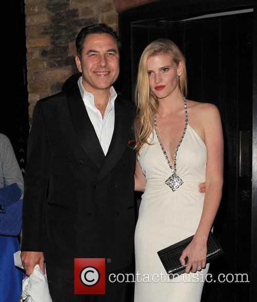 David Walliams and Lara Stone 1