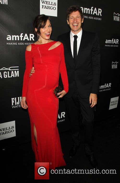 Milla Jovovich and Paul W. S. Anderson 2
