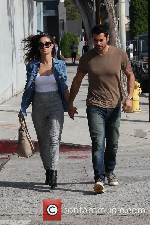 Cara Santana and Jesse Metcalfe go out for...
