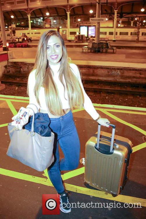 Geordie Shore's Holly Hagan returns home to Newcastle
