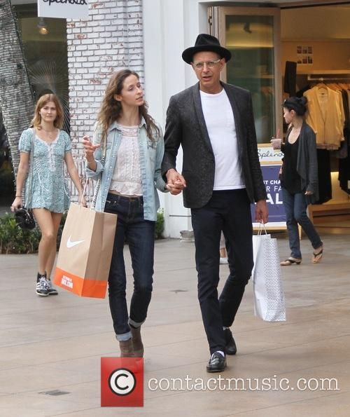 Jeff Goldblum and Emilie Livingston 8
