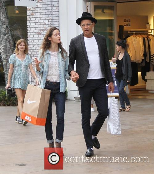 Jeff Goldblum and Emilie Livingston 9