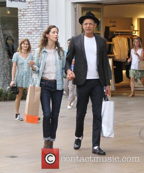 Jeff Goldblum and Emilie Livingston 10