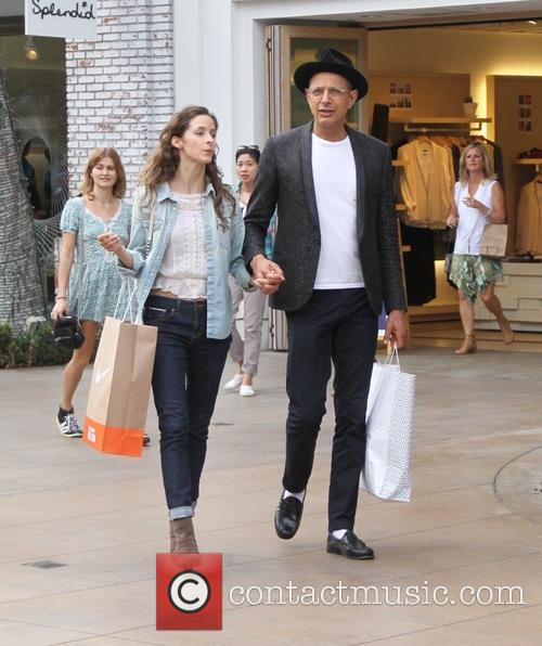 Jeff Goldblum and Emilie Livingston 11