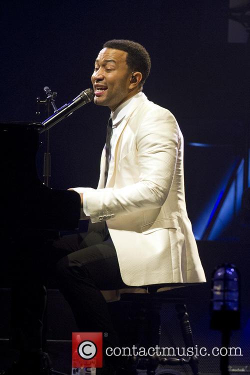 John Legend performs in Amsterdam