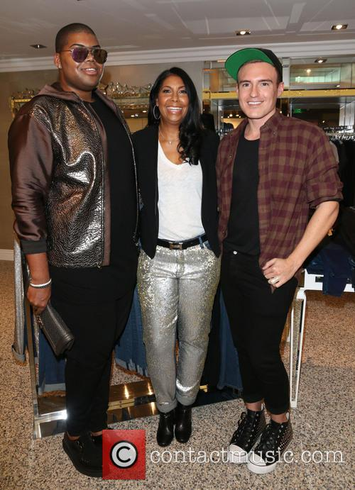 Jr Johnson, Cookie Johnson and Matthew Keegan 3