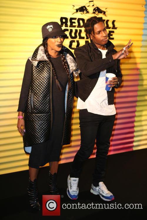 Alexandra Burke and A$ap Rocky 2