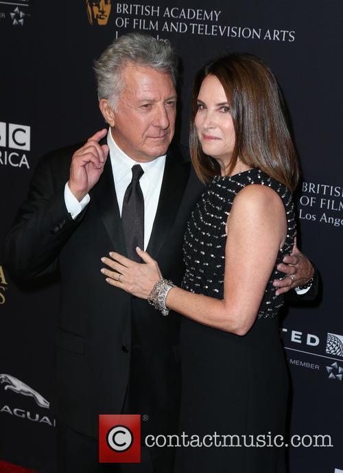 Dustin Hoffman and Lisa Hoffman 2