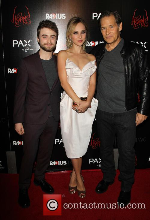 Daniel Radcliffe, Juno Temple and James Remar 5