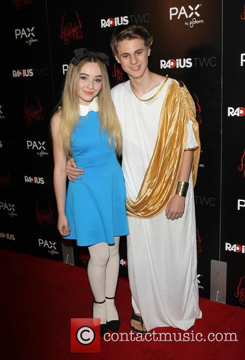 Sabrina Carpenter and Mitchell Kummen 2