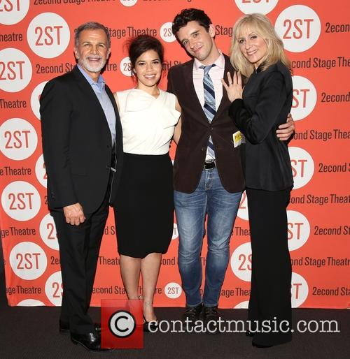 Tony Plana, America Ferrera, Michael Urie, Judith Light and Ugly Betty Reunion 2